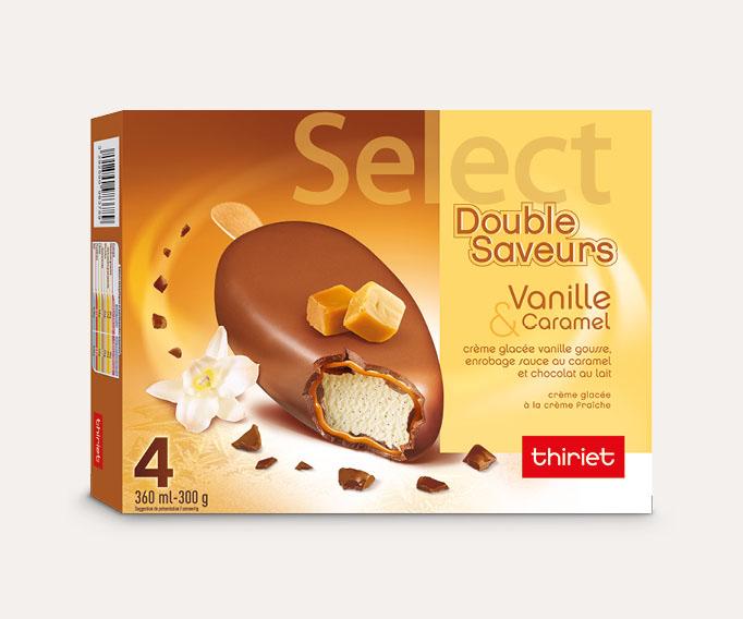 4 Select™ Double Saveurs Vanille/Caramel