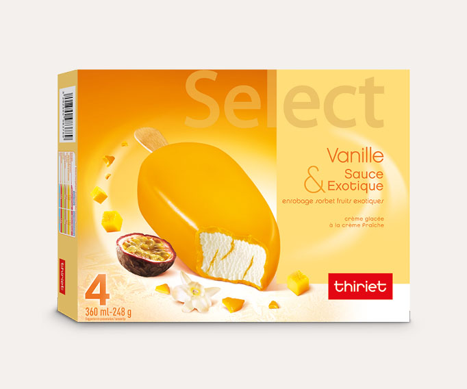 4 Select™ Vanille Fruits exotiques