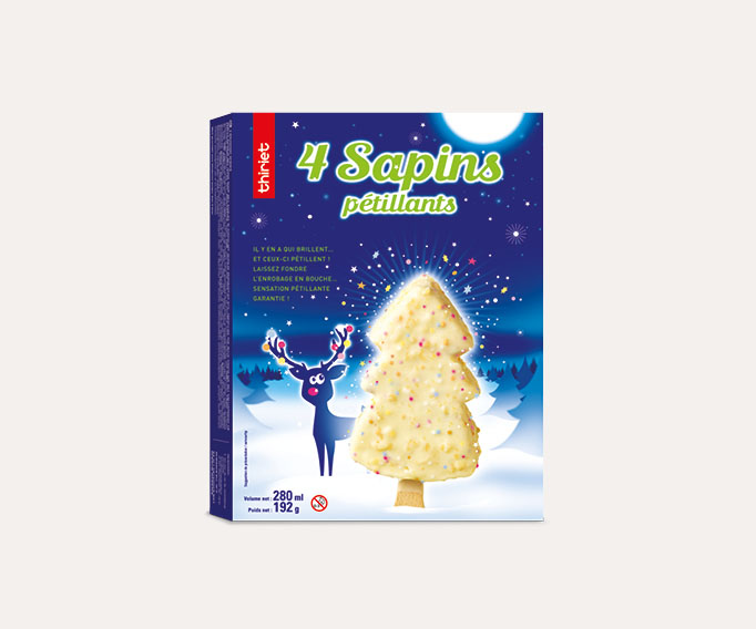 4 Sapins pétillants™