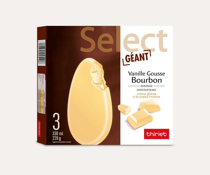 3 Select™ Géant Vanille gousse