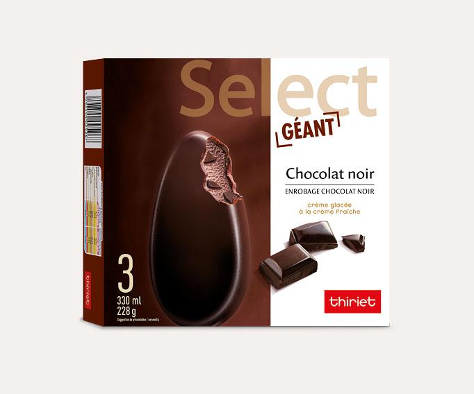 3 Select™ Géant Chocolat noir enr. chocolat noir