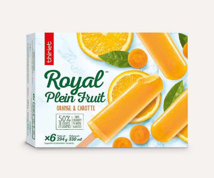 6 Royal™ Plein Fruit orange-carotte