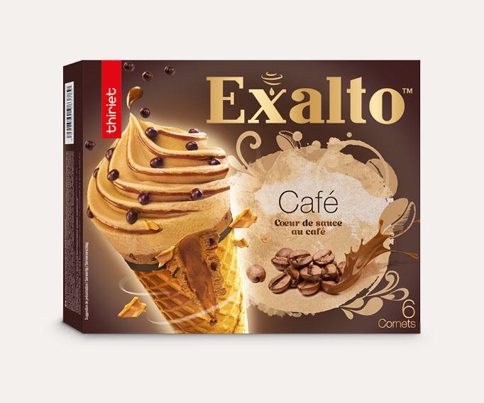 6 Cornets Exalto™ Café arabica/Saveur moka