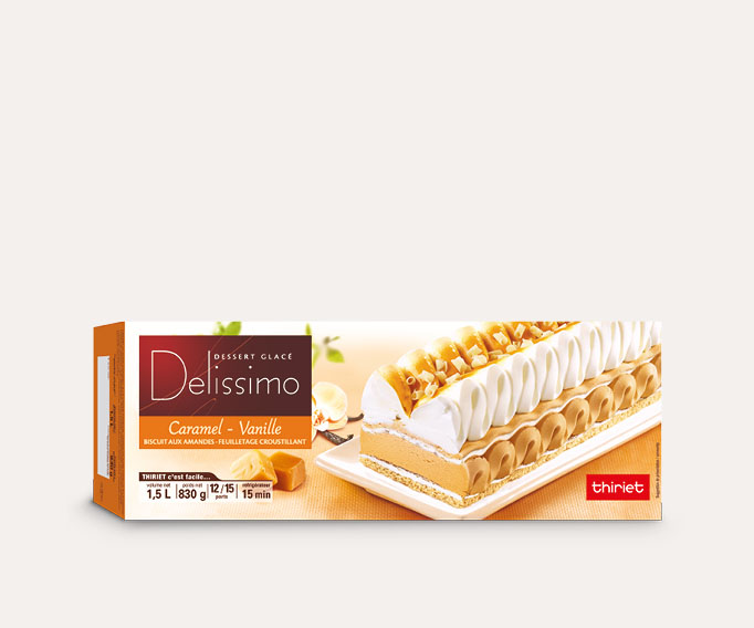 Delissimo™ caramel/vanille