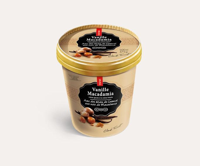 Pot Crème Glacée Vanille Macadamia