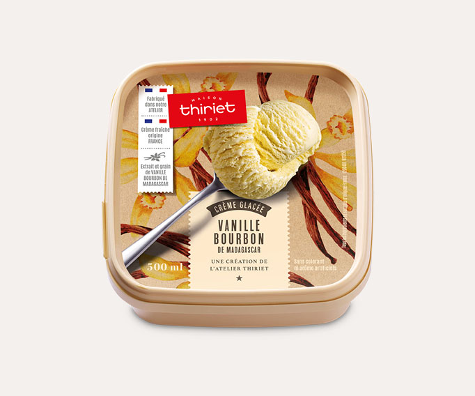 Crème glacée Vanille Bourbon de Madagascar