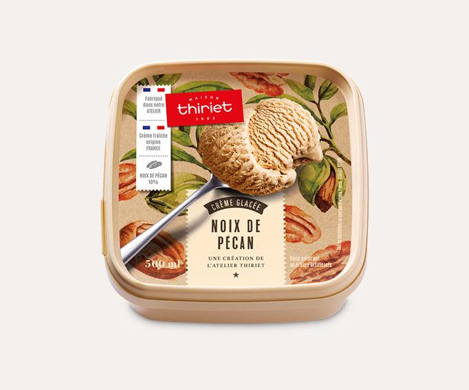 Crème glacée Noix de pécan