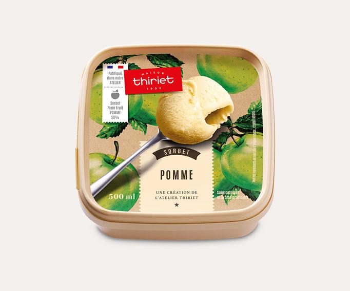Sorbet Plein Fruit Pomme