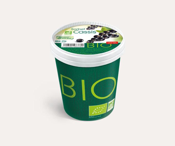 Pot Sorbet Cassis biologique