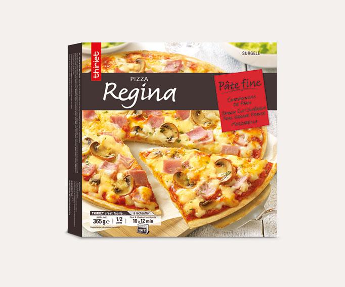 Pizzas pâtes fines cuites sur pierre Lot de 2 boîtes au choix