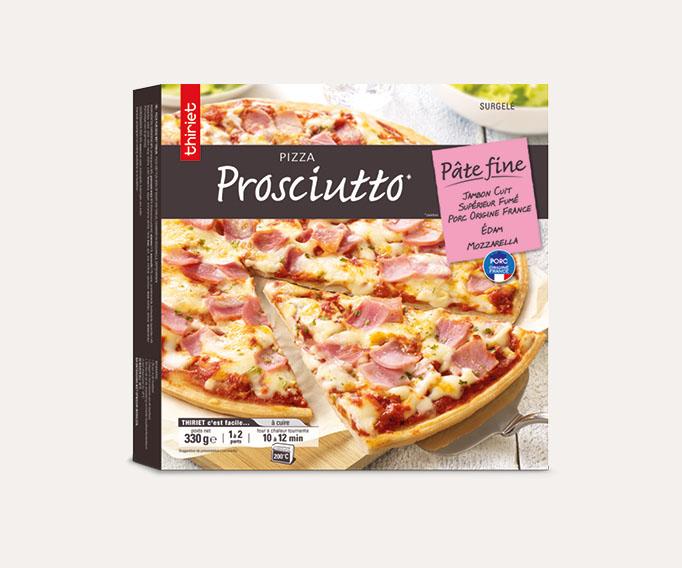 Pizza pâte fine Prosciutto