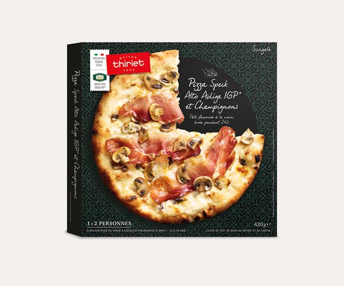 Pizzas - 1 à 2 parts Lot de 2 boîtes au choix