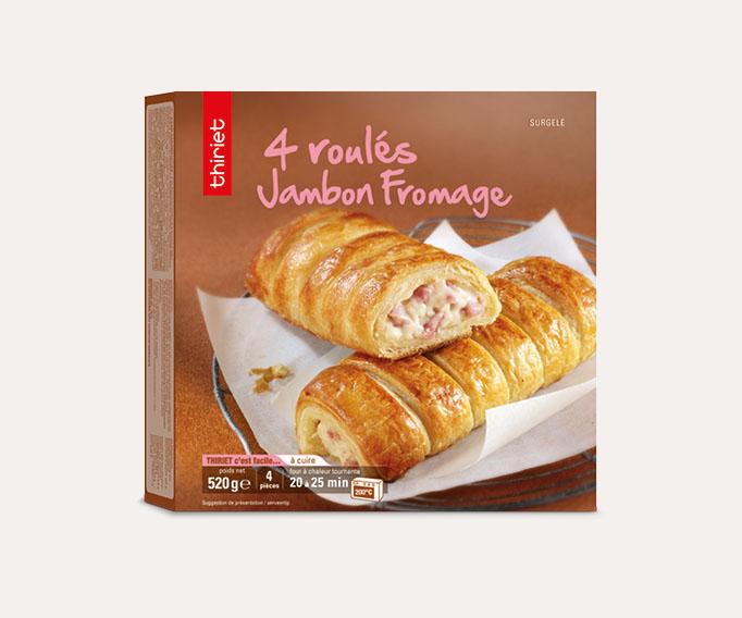 4 Roulés jambon/fromage Lot de 2 boîtes