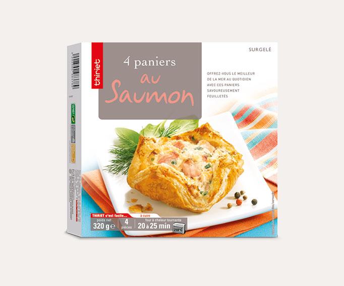 4 Paniers au saumon Lot de 2 boîtes