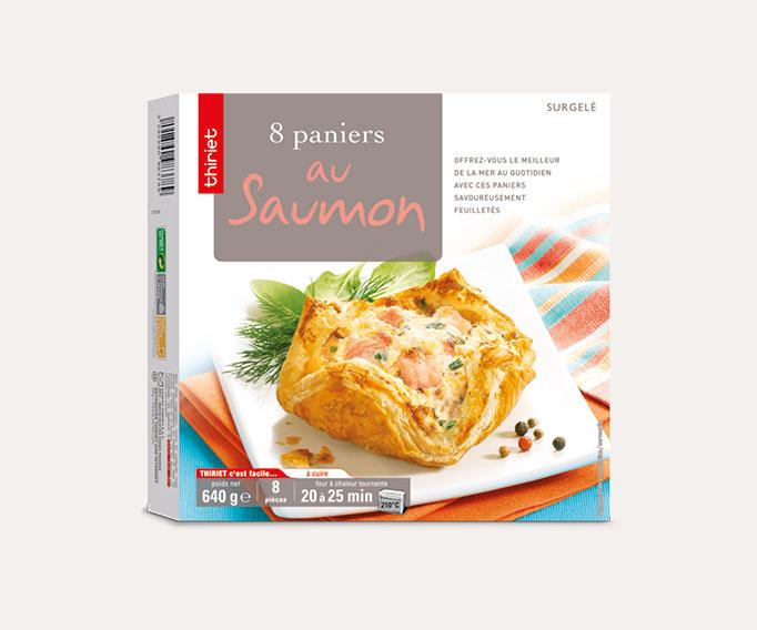 8 Paniers au saumon