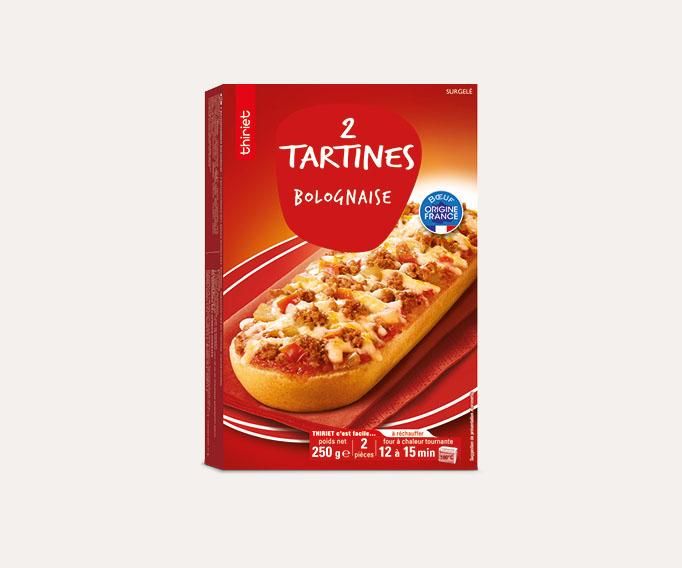 2 Tartines bolognaise
