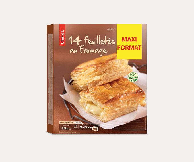 14 Feuilletés au fromage - Maxi format - par 14