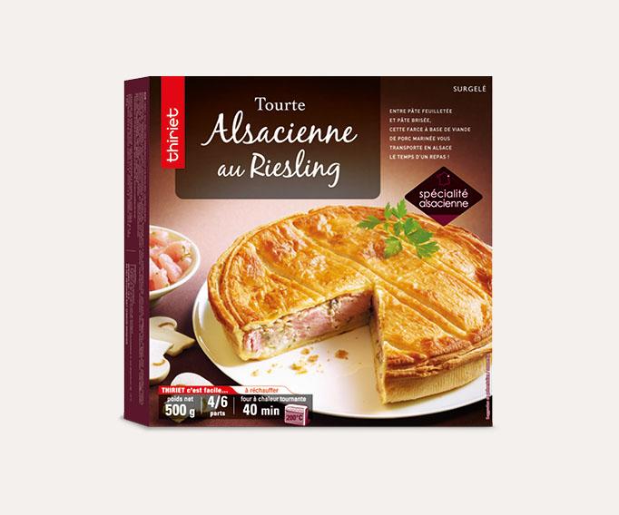 Tourte Alsacienne au Riesling