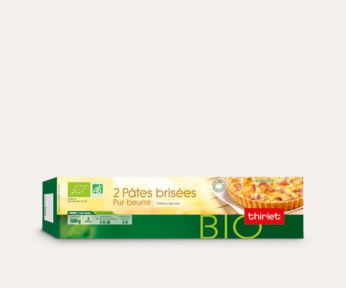 2 Pâtes brisées pur beurre biologiques