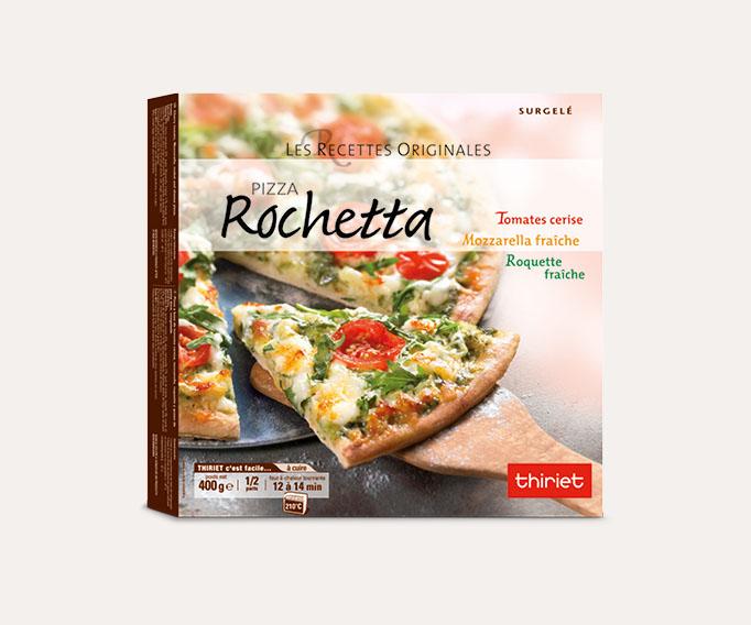 Pizzas cuites sur pierre 1 à 2 parts Lot de 2 boîtes au choix