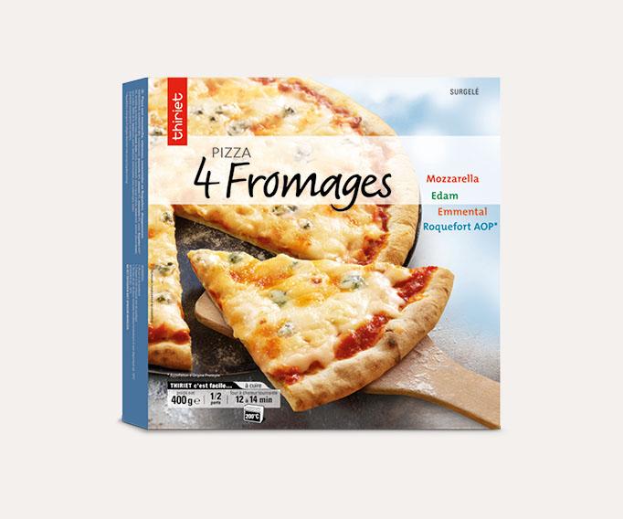 Pizza cuite sur pierre Lot de 2 boîtes au choix