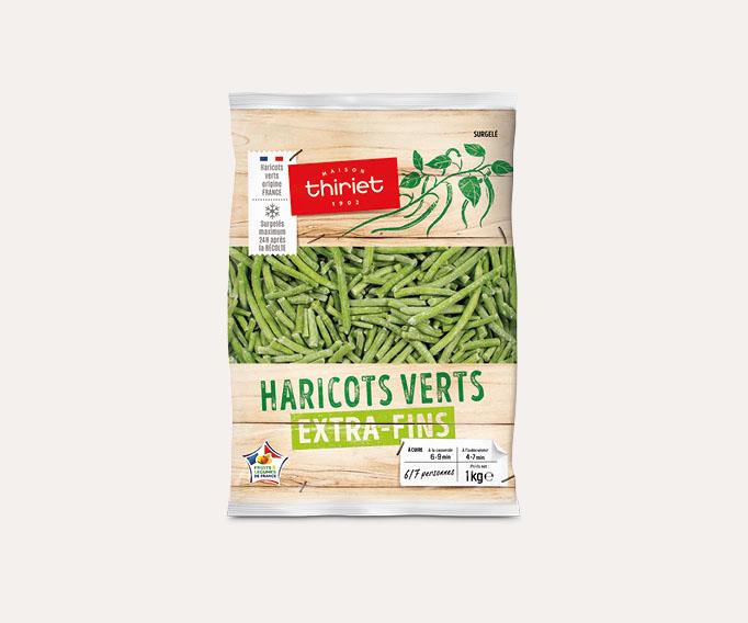 Haricots verts extra-fins Lot de 2 sachets