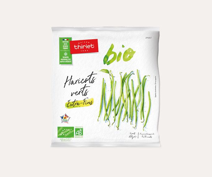 Haricots verts extra-fins biologiques