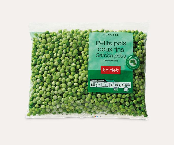 Petits pois doux fins 'Garden Peas'