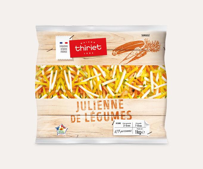 Julienne de légumes