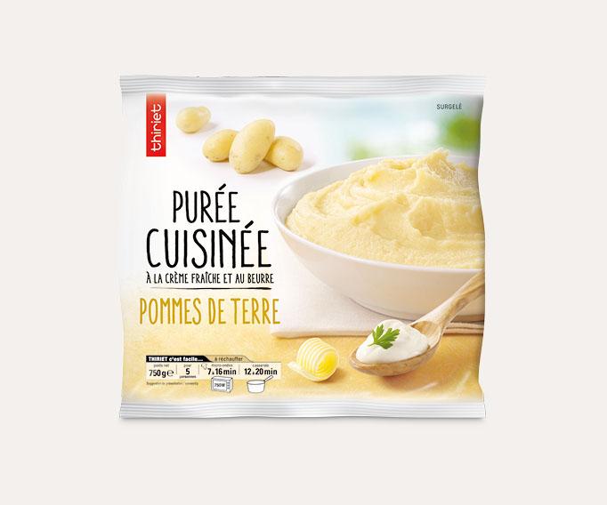 Purée de pommes de terre cuisinée