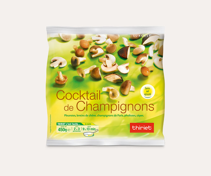 Cocktail de champignons