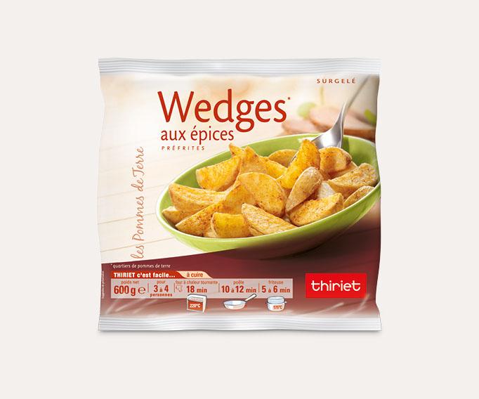 Wedges aux épices douces
