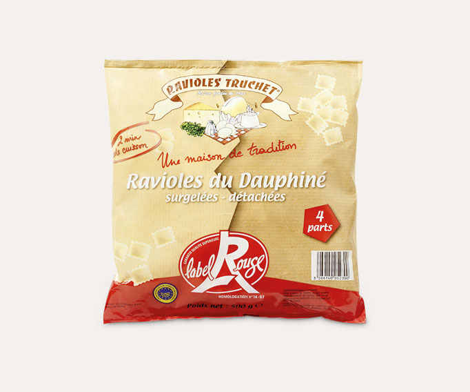 Ravioles Truchet Label Rouge Lot de 2 sachets