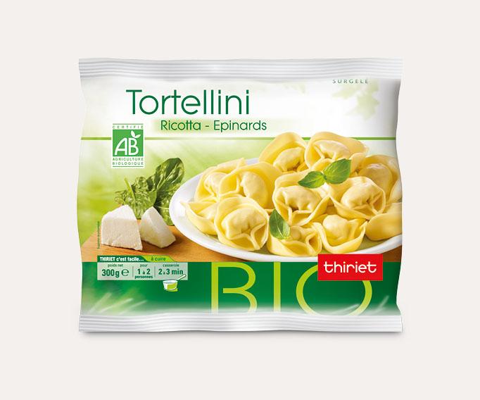 Tortellini biologiques Lot de 2 sachets au choix