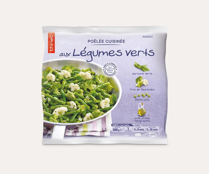 Poêlée cuisinée de légumes Lot de 2 sachets au choix