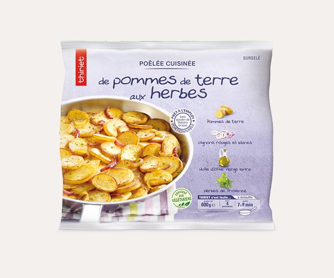 Poêlée cuisinée de pommes de terre Lot de 2 sachets