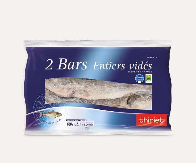 2 Bars entiers vidés