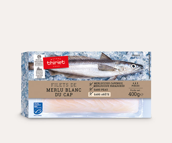 Filets de merlu blanc du Cap Lot de 2 boîtes