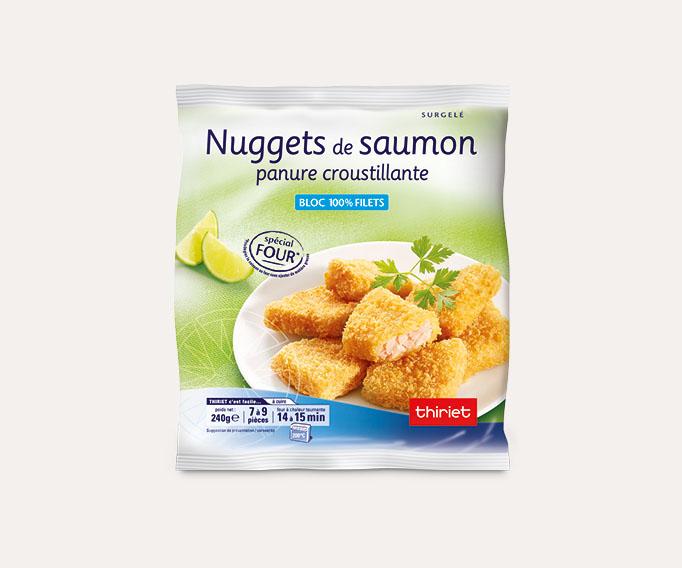 Nuggets de saumon