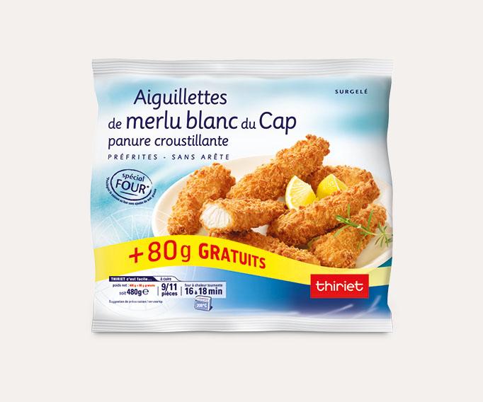 Aiguillettes de filets de merlu blanc du Cap - Maxi format