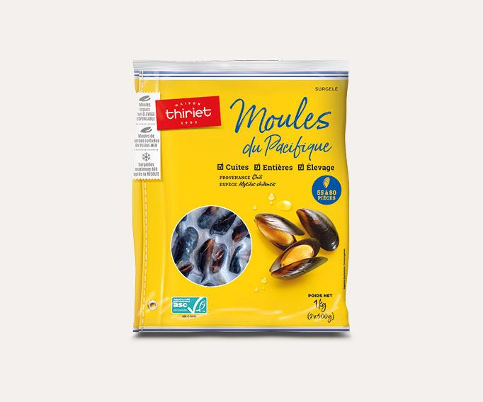 1 sachet de moules acheté = frites au choix OFFERTES