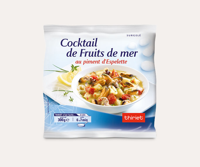 Cocktail de fruits de mer au piment d'Espelette
