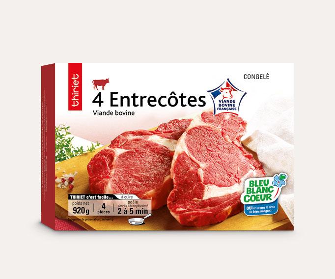 4 Entrecôtes