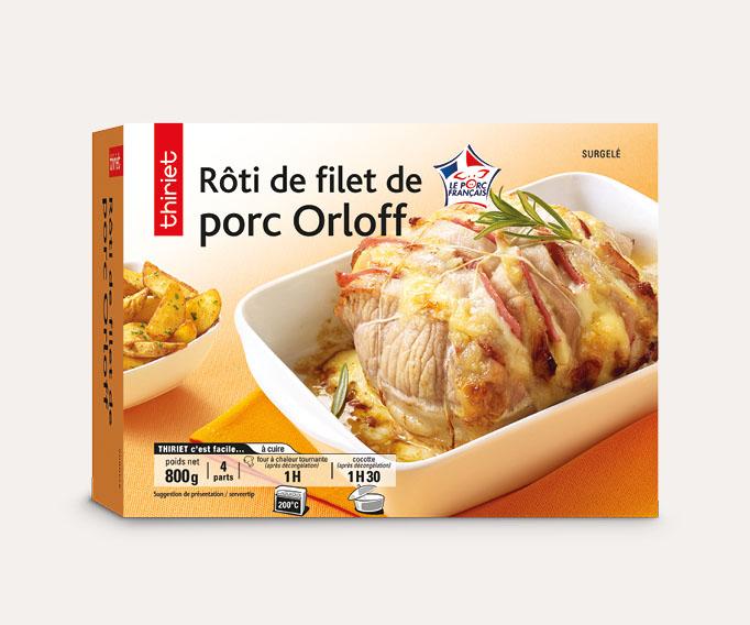 Rôti de filet de porc Orloff