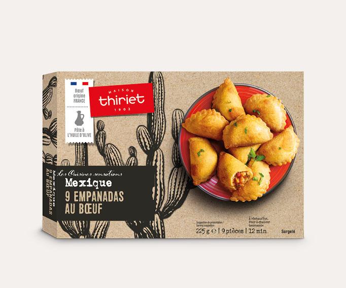 9 Empanadas au bœuf