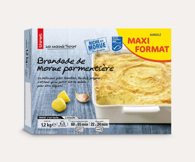 Brandade de morue parmentière - Maxi format