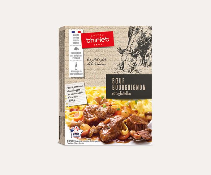 -10% sur le Bœuf bourguignon et tagliatelles