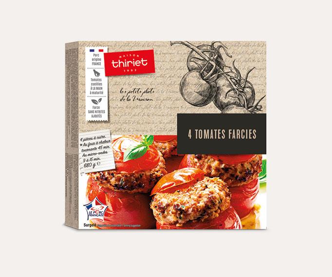 4 Tomates farcies Lot de 2 boîtes