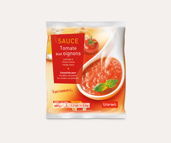 Sauce tomate aux oignons