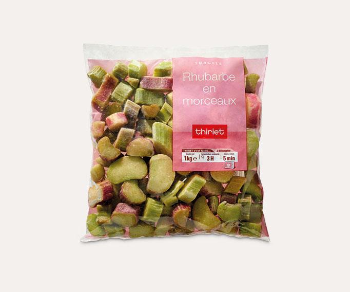 Rhubarbe en morceaux